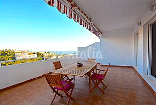 New flat with a terrace of 40m2 and sea views Málaga