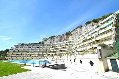 Santoña apartamentos 1ª línea playa, piscina Cantabria