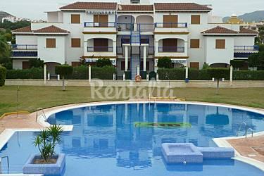 On Swimming pool Almería Vera Apartment