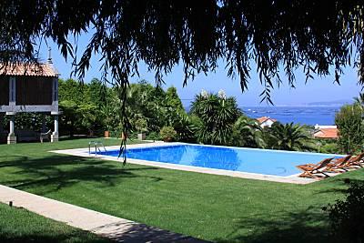 Casa Gandariña, villa de lujo en la Ria de Arosa Pontevedra