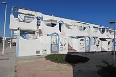 Casa de 2 habitaciones a 50 m de la playa Almería