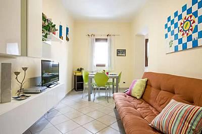 Apartamento para 2-4 personas a 5 km de la playa Palermo