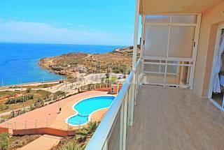 Ático primera línea de playa 3 dormitorios Murcia
