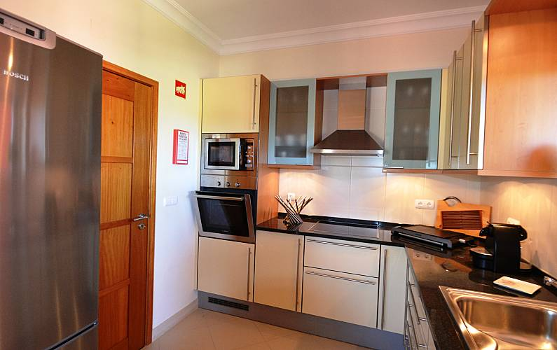 Luxuary Kitchen Algarve-Faro Loulé Apartment - Kitchen