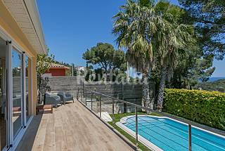 Villa 6 personas a 2km de la playa, vistas mar Girona/Gerona
