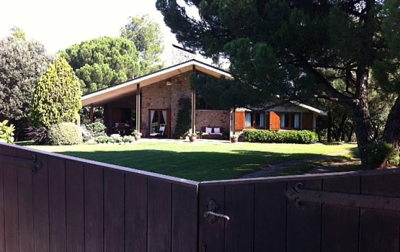 Villa encantadora en parque natural del Montseny, Barcelona -