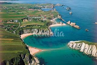 Chalet 4 habitac a 300 m playa con piscina y padel Cantabria
