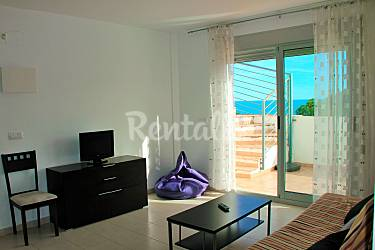 Penthouse, Living-room Castellón Peñíscola Apartment