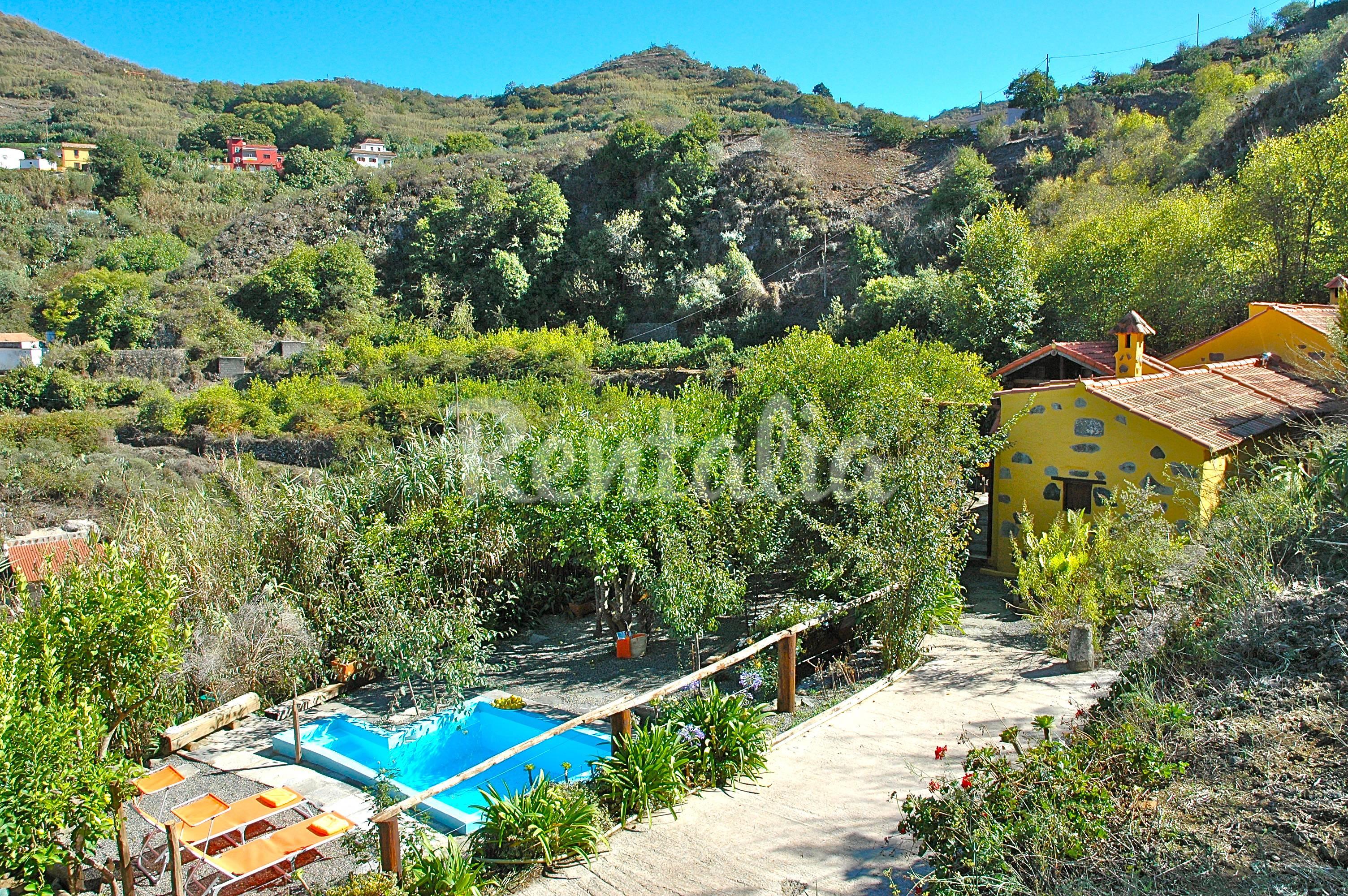 Preciosa casa de campo con piscina privada madrelagua - Villas en gran canaria con piscina ...