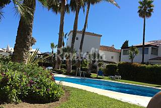 House with 3 bedrooms on the beach front line Málaga