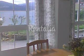 Apartamento de 2 habitaciones en 1a línea de playa A Coruña/La Coruña
