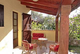 Casa de 2 habitaciones a 1500 m de la playa Olbia-Tempio