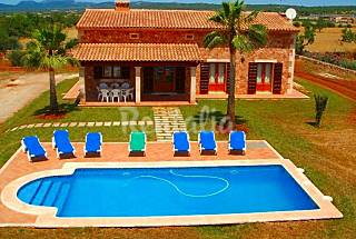 Villa en alquiler a 15 km de la playa Wi-Fi gratis Mallorca