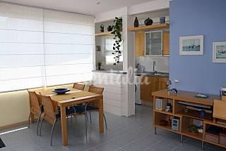 Apartamento de 1 habitación en 1a línea de playa Girona/Gerona