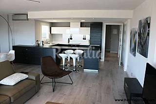 Apartamento a 20m de la playa con vistas mar Girona/Gerona