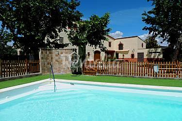 Mas Piscina Tarragona Riudoms Casa en entorno rural