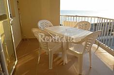 Apartment with 2 bedrooms on the beach front line Granada