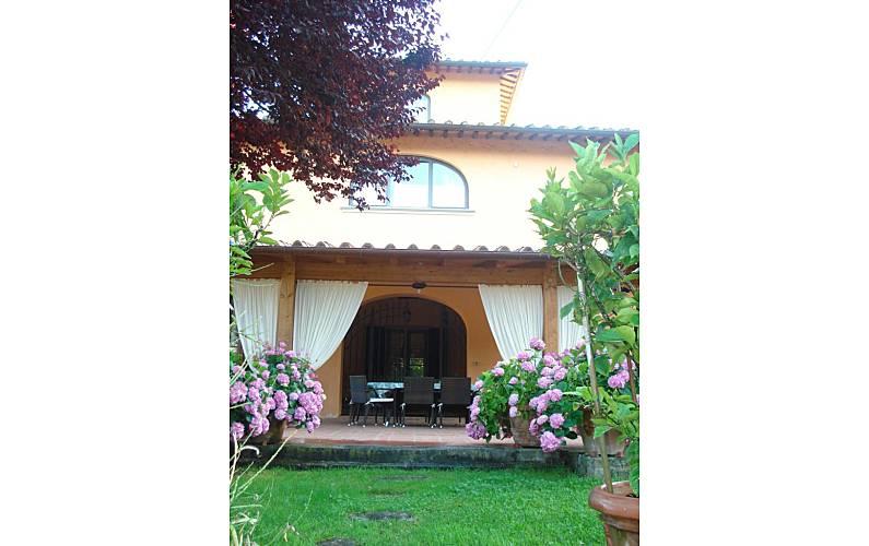 Casa Jardín Florencia Montelupo Fiorentino Casa en entorno rural - Jardín