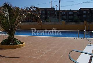 Apartment for 2-4 people on the beach front line Girona