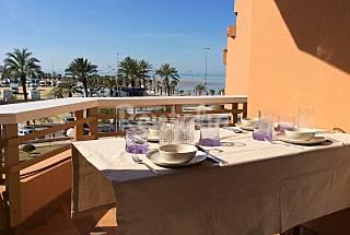 Apartamento en alquiler en 1a línea de playa Cádiz