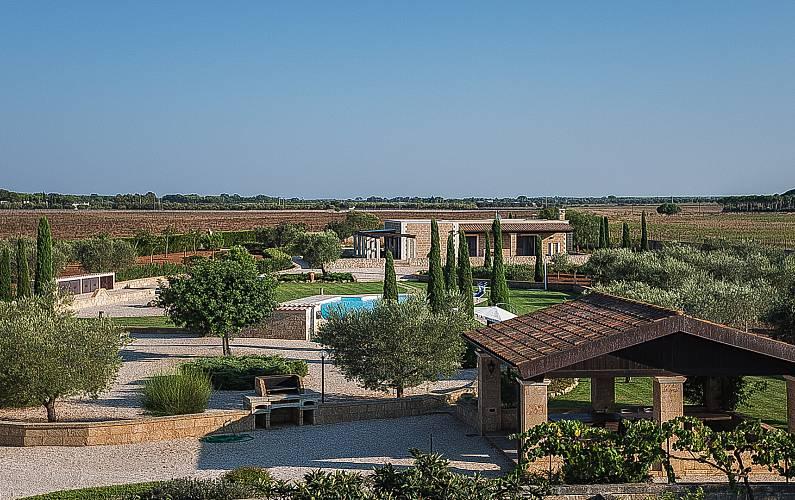 Villa Garden Lecce Corigliano d'Otranto Countryside villa - Garden