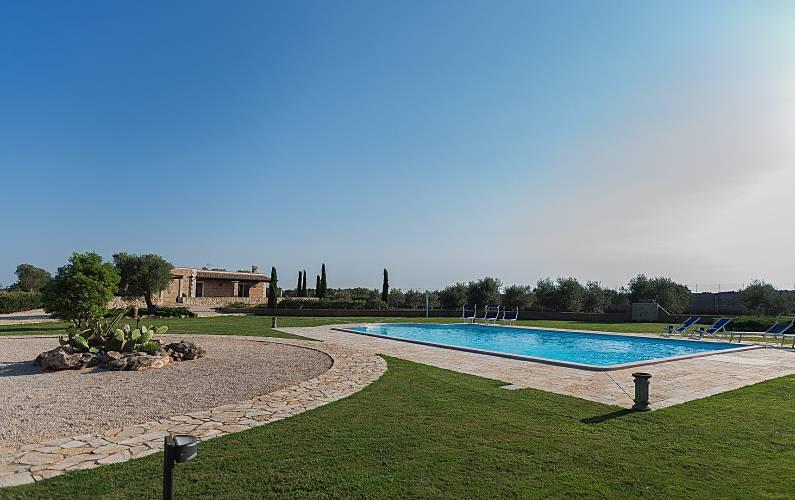 Villa Swimming pool Lecce Corigliano d'Otranto Countryside villa - Swimming pool