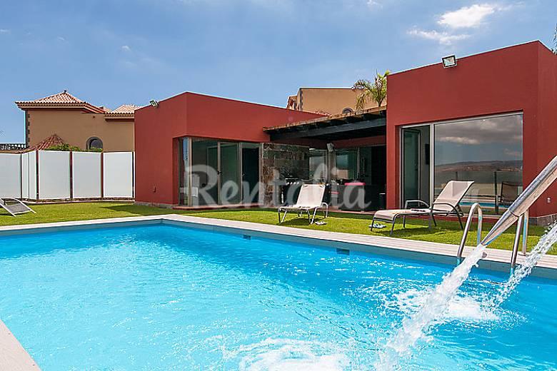 Villa para 4 personas con piscina el salobre san - Villas en gran canaria con piscina ...