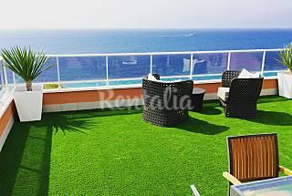 Luxury beachfront duplex penthouse. Alicante