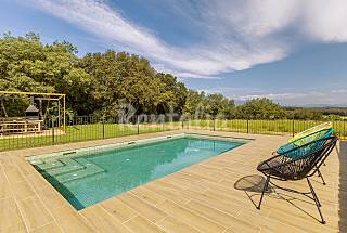 House with swiming pool for 7-8 people in Girona Girona