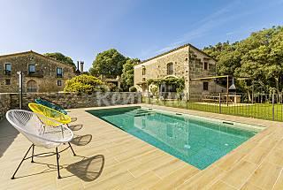 House with swiming pool for 7-8 people in Girona Girona