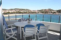 Apartamento en 1a línea de playa Girona/Gerona