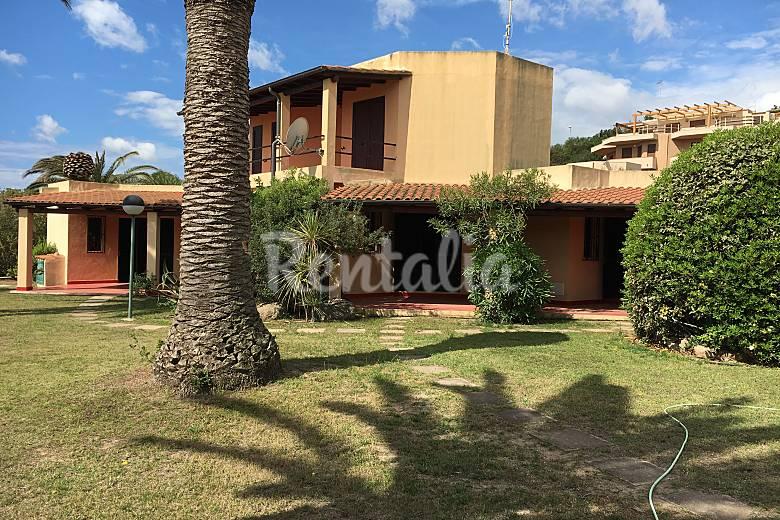Casa in affitto a 25 m dalla spiaggia monte nai muravera cagliari - Case in affitto vigevano con giardino ...