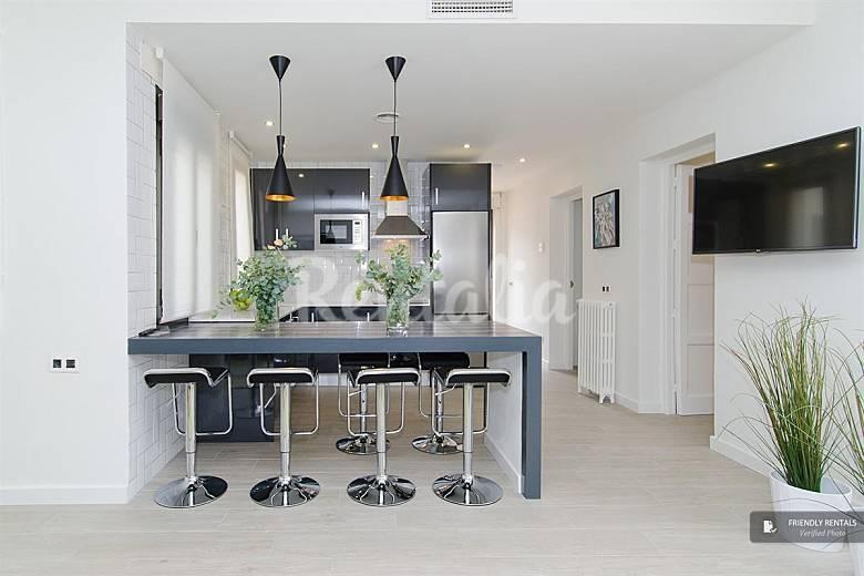 El apartamento madville attic i en madrid madrid madrid for Licencia apartamento turistico madrid
