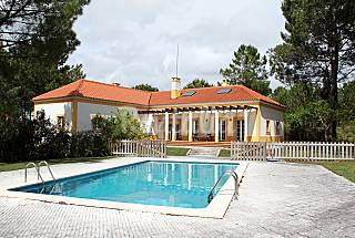 Villa for 7-8 people 14 km from the beach Setúbal