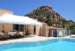 Villa de 2 habitaciones a 2 km de la playa Olbia-Tempio