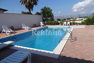 Villa with pool 500 m from the beach Palermo