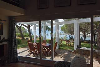 Casa para 8 personas en 1a línea de playa Girona/Gerona