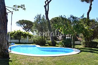 Villa 5 dormitorios, piscina, wifi, cerca playa  Huelva