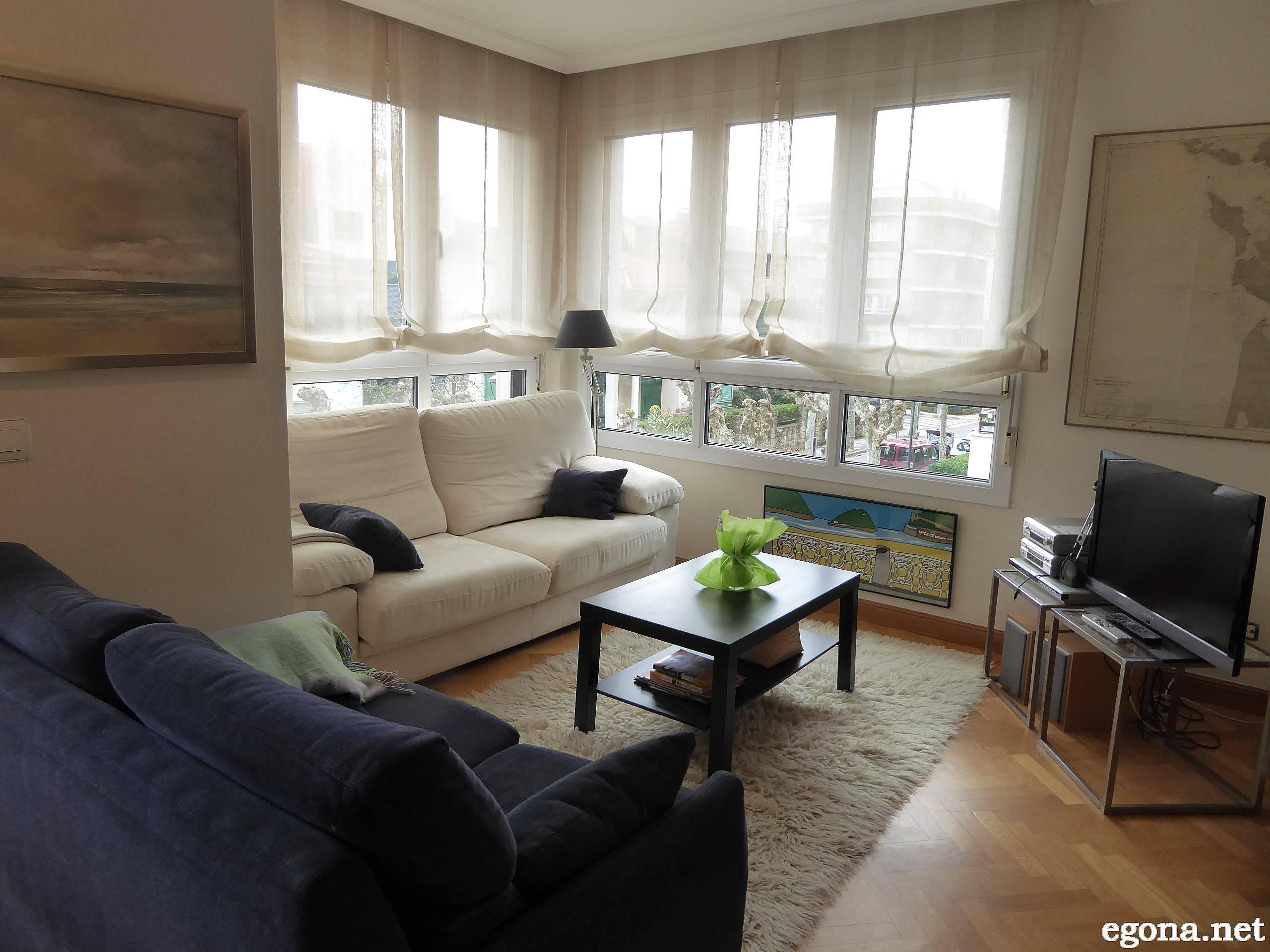 Apartamento en alquiler a 200 m de la playa zarautz - Apartamentos en zarauz ...