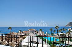 Apartment for 6 people on the beach front line Granada