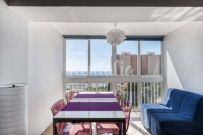 Apartment Living-room Alicante El Campello Apartment