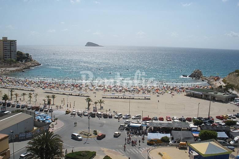 Apartamento en alquiler a 50 m de la playa la villajoyosa vila joiosa alicante costa blanca - Alquiler de apartamentos en playa ...