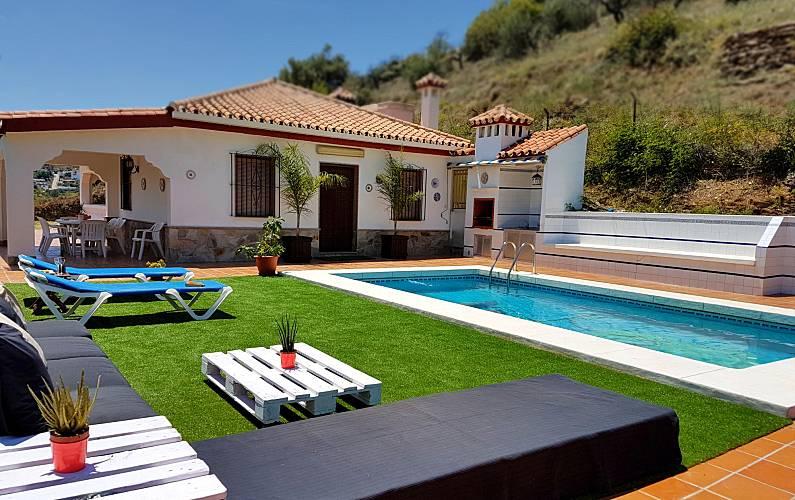 Villa A Louer Avec Piscine Privee A Malaga