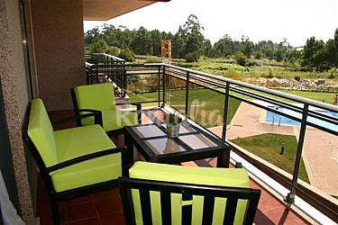 2 Terrace Pontevedra Sanxenxo-Sangenjo Apartment
