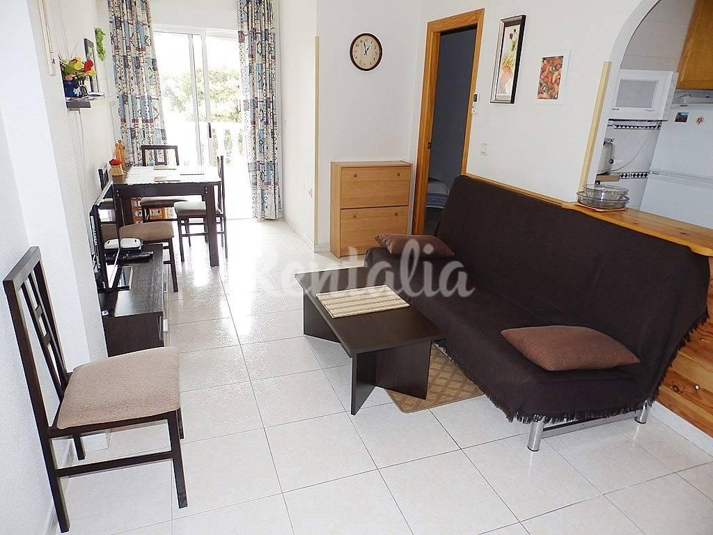 Apartamento de una habitaci n en un edificio con piscina torrevieja alicante costa blanca - Alquilo habitacion en alicante ...