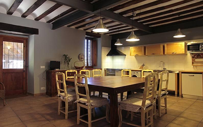 Casa Cocina Soria Arévalo de la Sierra Casa en entorno rural - Cocina