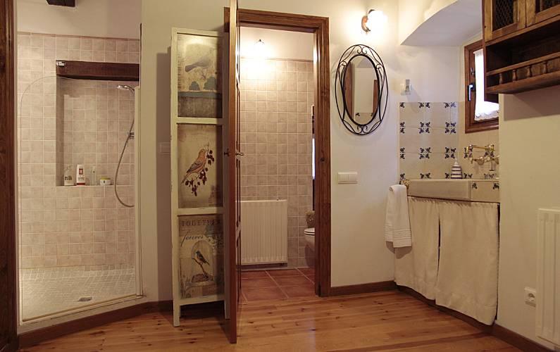 Casa Baño Soria Arévalo de la Sierra Casa en entorno rural - Baño