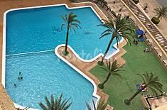 Apartamento para 4-6 personas en 1a línea de playa Murcia