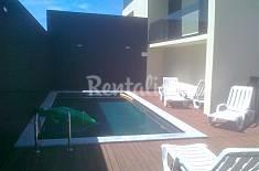 Apartamento para 5 pessoas em frente à praia Leiria