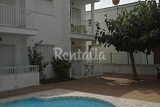 Apartamento de 2 habitaciones a 200 m de la playa Castellón